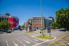 Cidade do Madri Imagem de Stock Royalty Free