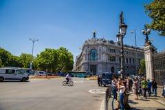 Cidade do Madri Fotos de Stock Royalty Free
