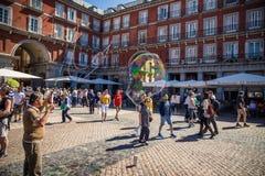 Cidade do Madri Imagem de Stock