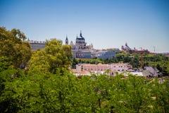Cidade do Madri Fotografia de Stock