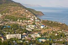 Cidade do mar Imagem de Stock