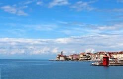 A cidade do mar Fotos de Stock