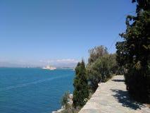 Cidade do mar Imagens de Stock