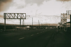 Cidade do Mojave de Main Street Imagem de Stock