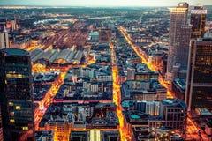 Cidade do negócio Imagens de Stock
