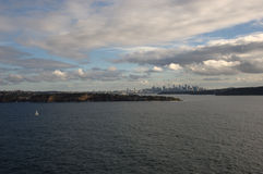 Cidade do oceano Imagens de Stock