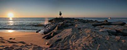 Cidade do oceano foto de stock royalty free