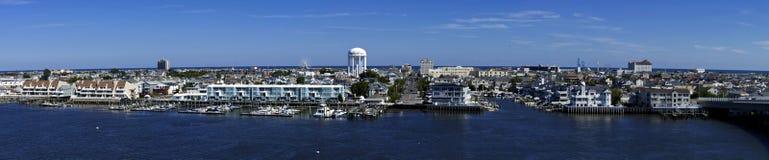 Cidade do oceano, New-jersey Fotografia de Stock Royalty Free