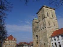 A cidade do osnabrueck em Alemanha fotos de stock