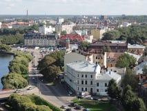 Cidade do panorama Fotografia de Stock