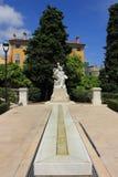A cidade do parfum - Grasse, França Fotos de Stock Royalty Free