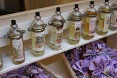 A cidade do parfum - Grasse, França Foto de Stock Royalty Free