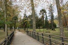 Cidade do parque de Azpeitia Fotografia de Stock