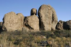 Cidade do parque de estado das rochas Fotografia de Stock