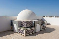 Cidade do patrimônio mundial de Kairouan, Tunísia fotografia de stock