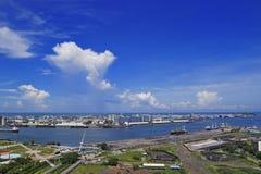 Cidade do porto Fotos de Stock