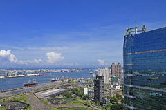 Cidade do porto Imagem de Stock