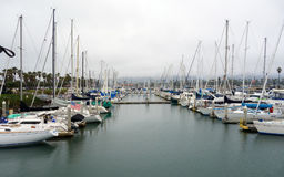 Cidade do porto de Oxnard foto de stock