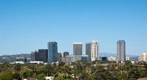 Cidade do século em Califórnia foto de stock