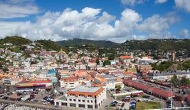 Cidade do ` s de St George - Granada Imagem de Stock Royalty Free