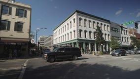 A cidade do savana em Geórgia video estoque