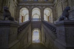 Cidade do sceptre da Espanha imagens de stock royalty free