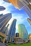 Cidade do sonho Fotos de Stock Royalty Free