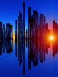 Cidade do Soundwave 4 Imagens de Stock Royalty Free