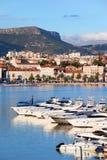 Cidade do Split em Croatia foto de stock