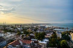 Cidade do telhado Fotografia de Stock