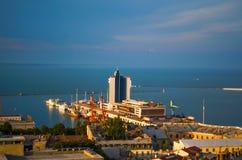 Cidade do telhado Foto de Stock
