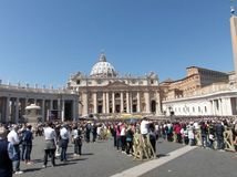 Cidade do Vaticano Foto de Stock Royalty Free
