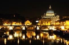 Cidade do Vaticano em Roma, Italy imagem de stock