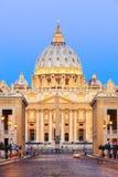 Cidade do Vaticano Indicadores velhos bonitos em Roma (Italy) fotografia de stock