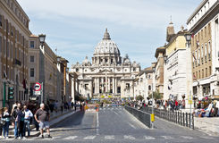 Cidade do Vaticano, Roma, Italy fotografia de stock