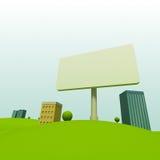 Cidade dos desenhos animados Fotos de Stock