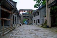 Cidade dos fantasmas de Fengdu imagem de stock