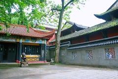 Cidade dos fantasmas de Fengdu imagem de stock royalty free