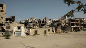 Cidade dos homs após a guerra Imagem de Stock