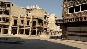 Cidade dos homs após a guerra Foto de Stock Royalty Free