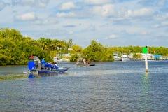 Cidade dos marismas Fotos de Stock Royalty Free