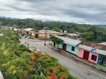 Cidade dos pobres da vila Foto de Stock Royalty Free