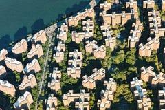 Cidade e Peter Cooper Village de Stuyvesant em New York City Imagens de Stock