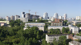 Cidade Ekaterinburg Rússia Fotografia de Stock