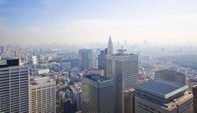 Cidade elevada da ascensão Foto de Stock Royalty Free
