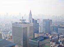 Cidade elevada da ascensão de Tokyo fotografia de stock royalty free