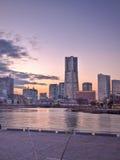 Cidade elevada Yokohama da ascensão de Tokyo Japão Fotografia de Stock