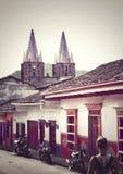 Cidade em Colômbia Foto de Stock
