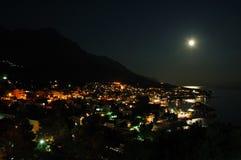 Cidade em a noite Foto de Stock