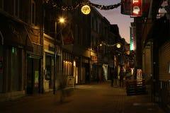 Cidade em a noite Imagem de Stock Royalty Free